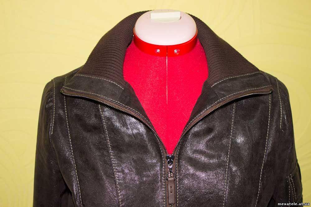 Сшитая кожанная куртка фото